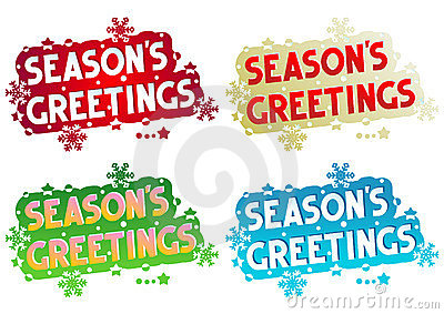 Holiday greetings - Season s Greetings