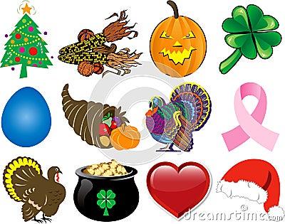 Holiday Icon Set 2