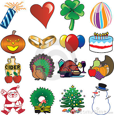Holiday Icon Set 3