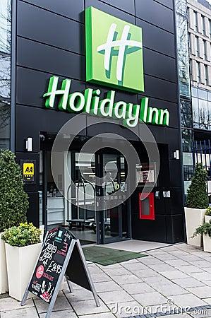 Holiday Inn - Bristol - England Editorial Stock Photo