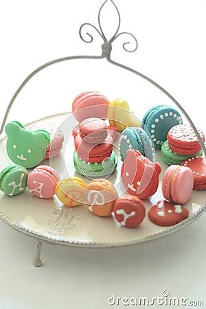 Holiday macarons