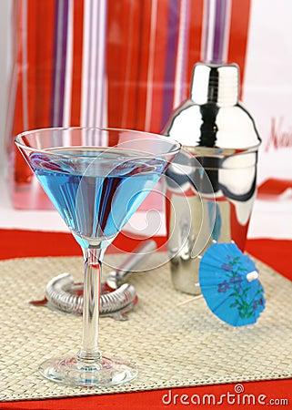Holiday Martini Stock Photo