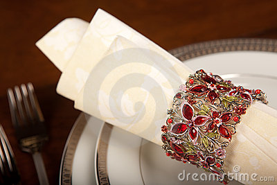 Holiday napkin ring 2