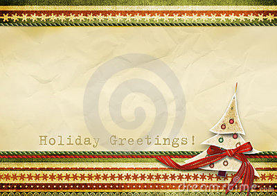 Holiday s greeting card