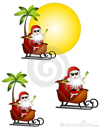 Holiday Santa Claus Travel