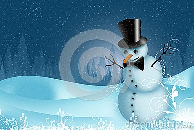 Holiday Snowman