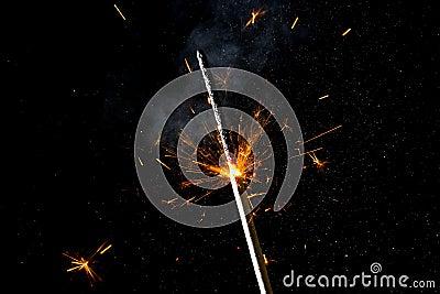 Holiday sparkler