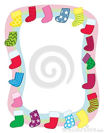 Holiday Stocking Border