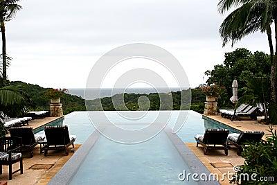 Holiday swimming pool
