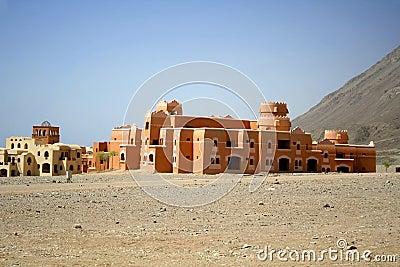 Holiday tourist resort