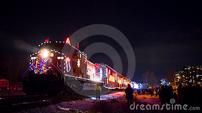 Holiday Train Editorial Stock Image
