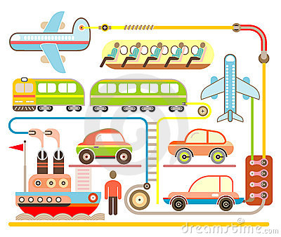 Holiday Travel - vector illustration