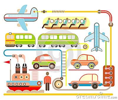 Holiday Travel - vector illustration