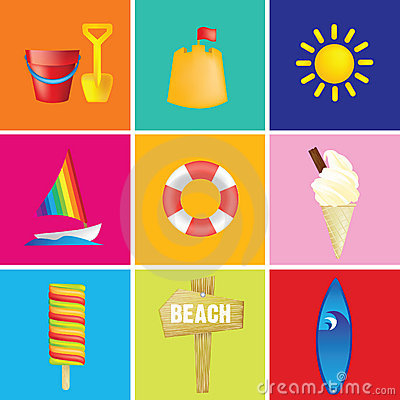 Free Holiday Vacation Illustration Royalty Free Stock Photos - 10474018