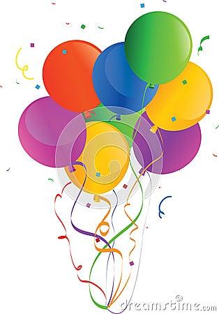 Holiday Vector Balloons 2