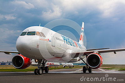 A320 Holidays Czech Airlines Editorial Image