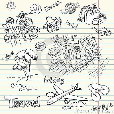 Holidays Doodles