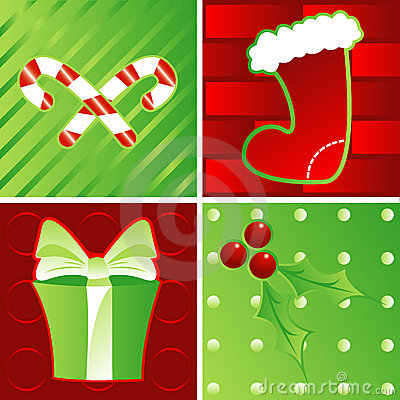 Holidays in Green & Red