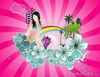 Holidays vector illustration