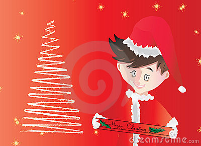 Holidays wishes and decor - vector
