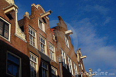 Holl ndische architektur in amsterdam holland stockfoto bild 17137240 - Architektur amsterdam ...
