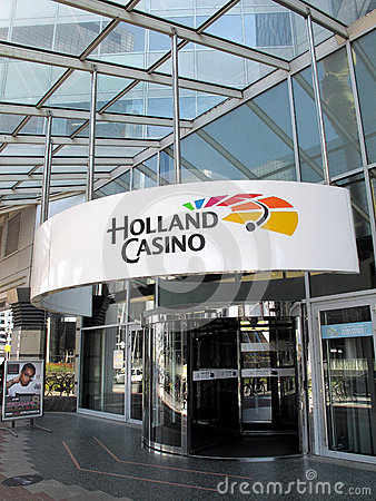 Holland Casino in Rotterdam Editorial Stock Image