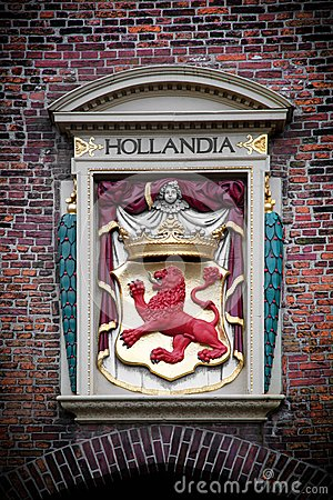 Hollandia sculpture. The Hague