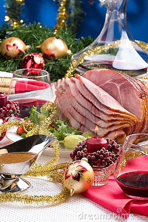 Free Holliday Honey Ham Stock Images - 6478014