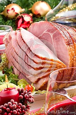 Free Holliday Honey Ham Stock Photography - 7026512