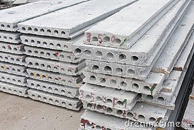 Hollow core slab