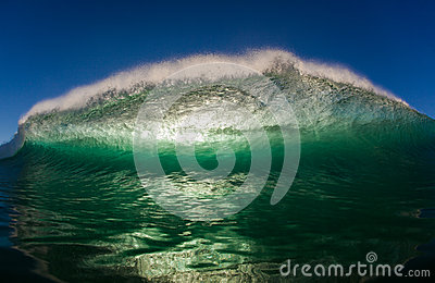 Hollow Ocean Wave Swim