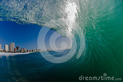 Hollow Ocean Wave Water View