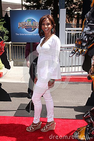 Holly Robinson Peete at the World Premiere Of Universal Studios Hollywood s  Editorial Stock Image