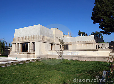 Hollyhock House Editorial Photo