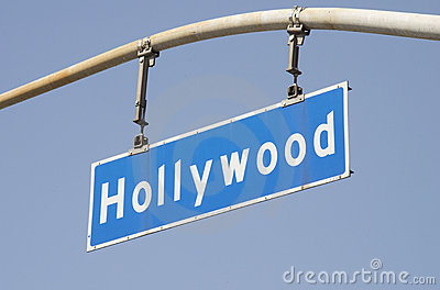 Hollywood Blvd Street Sign 2