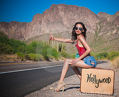 Hollywood Bound Royalty Free Stock Photography - Image: 14427627
