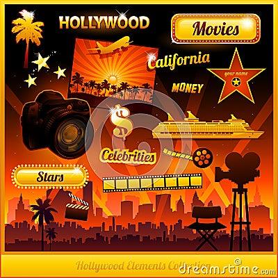 Free Hollywood Cinema Movie Elements Stock Photo - 23648760
