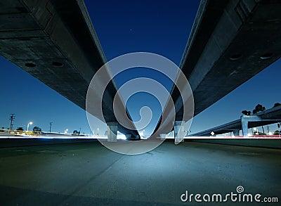 Hollywood Freeway Bridges
