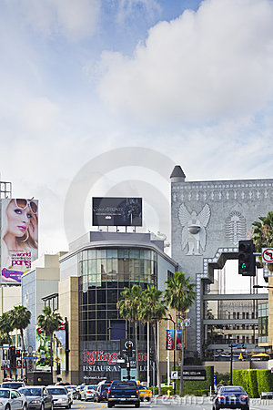 The Hollywood and Highland Center Editorial Image
