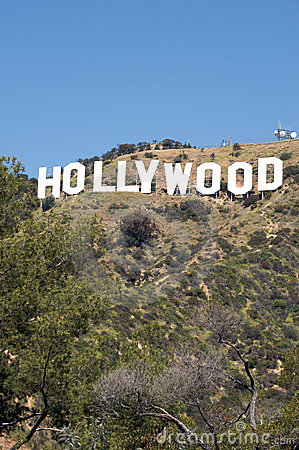 Hollywood Sign Editorial Stock Image