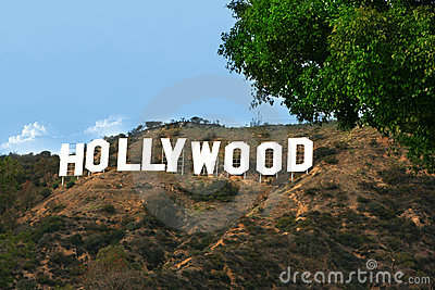 Hollywood sign Editorial Photo