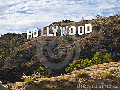 Hollywood Sign Afternoon Editorial Photography