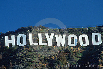 Hollywood sign, Los Angeles, CA Editorial Photography