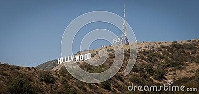 Hollywood Sign Los Angeles California Editorial Stock Photo