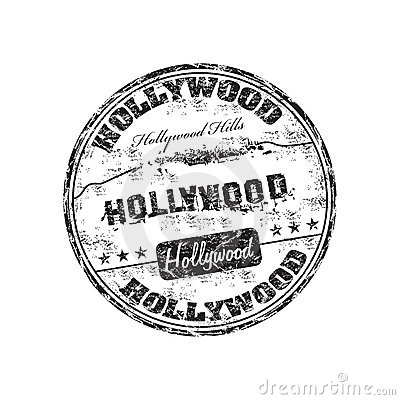 Free Hollywood Stamp Royalty Free Stock Photos - 16925858