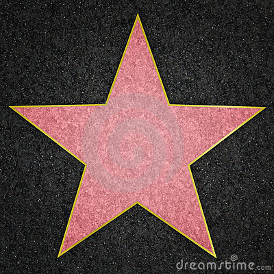 Hollywood Star Royalty Free Stock Images Image 6149169