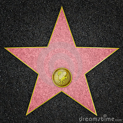 Free Hollywood Star - Film Star Royalty Free Stock Photos - 7144648