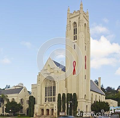 Hollywood United Methodist Church Editorial Stock Image