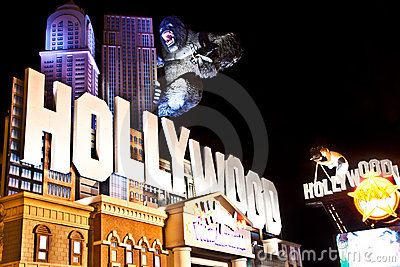 Hollywood Wax Museum in Branson MO Editorial Stock Image