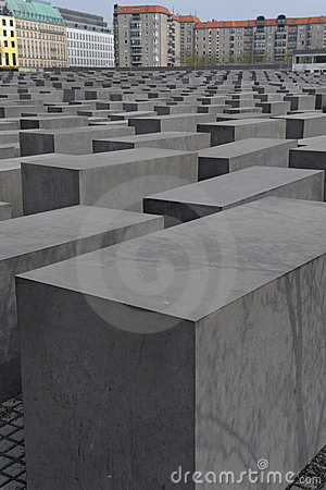 Holocaust Memorial Berlin Editorial Stock Photo